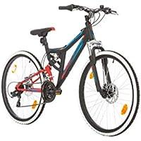 BIKE SPORT LIVE ACTIVE 26 Zoll Bikesport Integral Jungen Fahrrad Mountainbike Fully FSP Alu Rahmen, Shimano 21 Gang Scheibenbremse