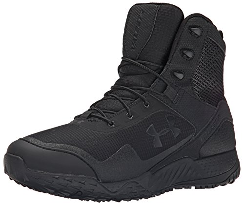 Under Armour UA Valsetz Rts Side Zip, Zapatos de Low Rise Senderismo para Hombre, Negro Black 001...