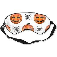 Halloween Kürbis Maulbeerseide Augenmaske, mit verstellbarem Riemen preisvergleich bei billige-tabletten.eu