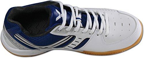 VICTOR V-300 Indoor Sport scarpa/badminton scarpa/scarpa palasport, Blu/Bianco Blu - Blu/Bianco