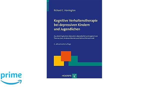 Kognitive Verhaltenstherapie bei depressiven Kindern und ...