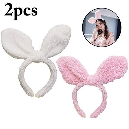 Frauen Kreative Kostüm Niedlichen - Zoylink 2 STÜCKE Niedlichen Kaninchen Stirnband Ostern Stirnband Kreative Ohr Party Haarband für Frauen