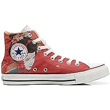 Converse Customized - zapatos personalizados (Producto Artesano) Geisha 2
