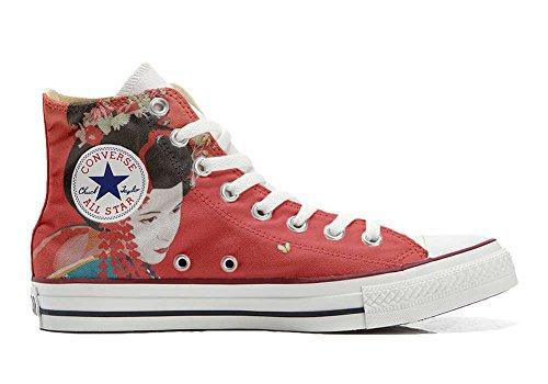 Converse Customized Adulte - chaussures coutume (produit artisanal) Geisha 2