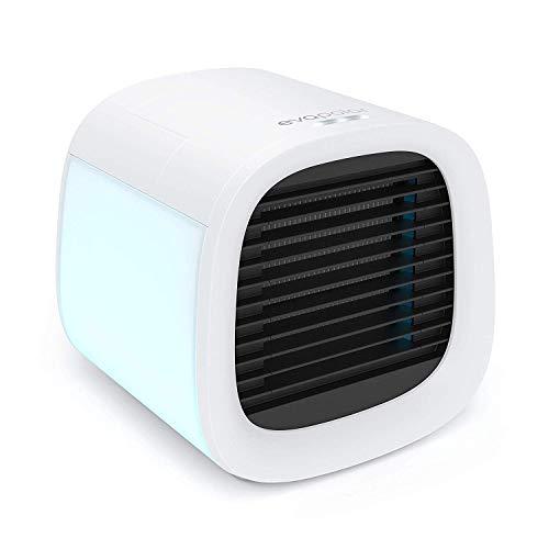 Evapolar evaCHILL Neuer persönlicher Verdunstungsluftkühler/Air Cooler und Luftbefeuchter/tragbarer Air Conditioner und Ventilator, Deckweiß, Opaque White