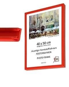 Cadre pour poster 60x80 cm rouge cadre photo cadre interchangeable cuisine maison - Cadre photo 60x80 ...