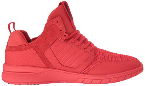 Supra Method, Scarpe Basse Uomo Rot (RED-RED)