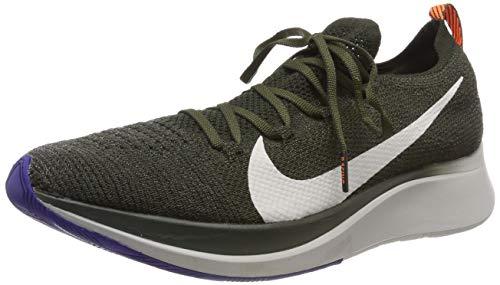 Nike Zoom Fly Flyknit, Scarpe da Trail Running Uomo, Multicolore (Sequoia/Summit White-Olive Flak 303), 42 2/3 EU