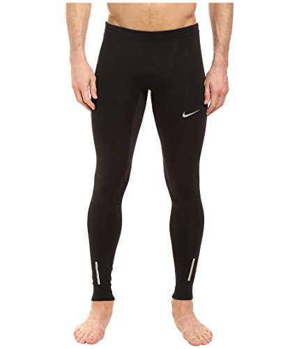 Nike Herren Lauftights Tech, schwarz/silber, L, 642827