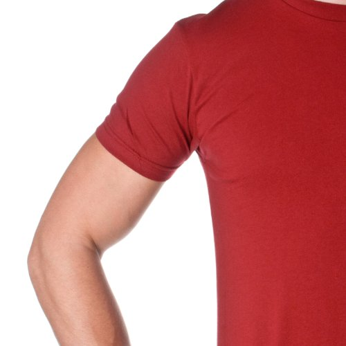 Next Level -  T-shirt - Uomo Cardinale