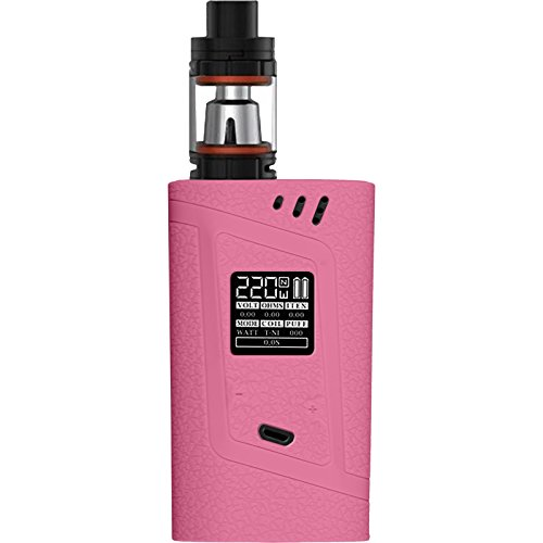 PhoneNatic Case kompatibel mit SMOK Alien 220W - Hülle Silikon pink Cover Tasche Alien-cover