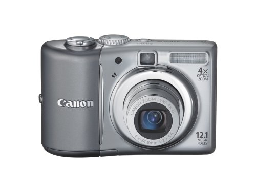 Canon PowerShot A1100IS/A-1100is Digitalkamera Compact 12.1Megapixel, Zoom 4x Silber -