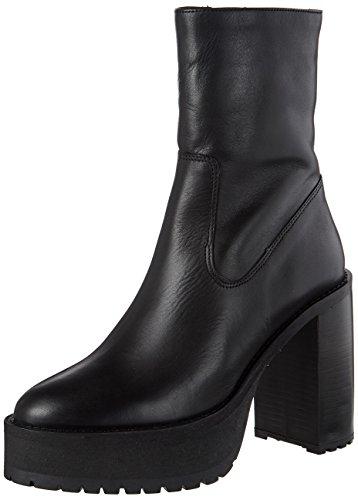 Buffalo London Damen ES 30990 Florida Stiefel, Schwarz (Preto 01), 40 EU