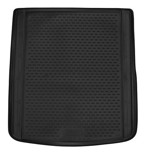 AD Tuning TMP11012 Passform Kofferraumwanne, Anti-Rutsch Oberfläche, schwarz