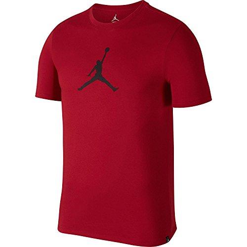 Nike Herren Jordan Dri-Fit JMTC 23/7 Jumpman Rot Baumwolle/Polyester T-Shirt - Jordan T-shirt