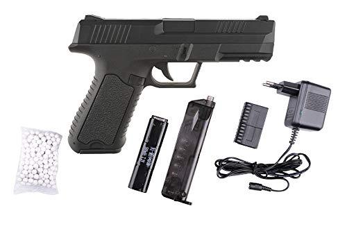 Cyma - Pistola para airsoft CM127, tipo Custom CM030 Custom / G18 Custom / Cosplay / Fuerza especial / 0,5 julios / color negro