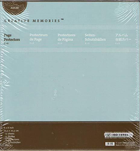 Creative Memories Albumschutzseiten 20 x 20 cm -