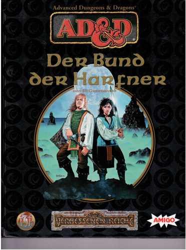 AD&D, Die Vergessenen Reiche, Spiel-Zubehör, Der Bund der Harfner