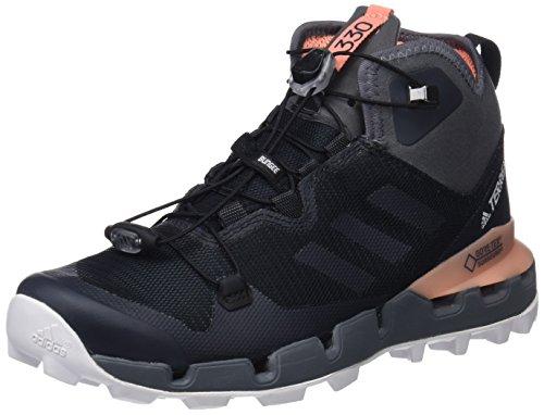 adidas Damen Terrex Fast Mid GTX-Surround W Trekking- & Wanderstiefel Schwarz (Negbás/Gricin/Cortiz 000) 42 2/3 EU