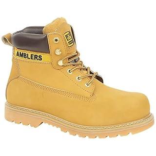 Unisex FS7 Steel Toe Cap Boot in Honey (9)