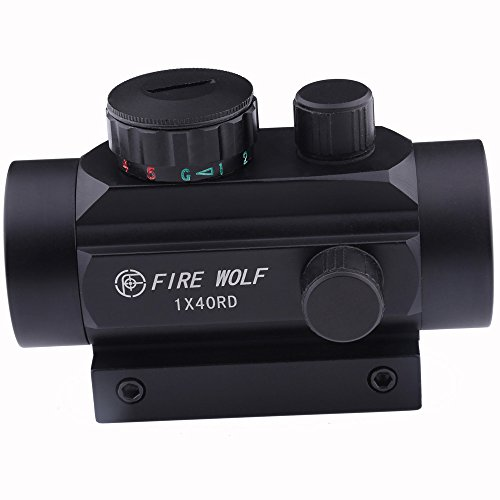 COLORFUL 1x40 Jagd Taktische Holographische Zielfernrohre Red Green Dots Optical Sight Umfang...