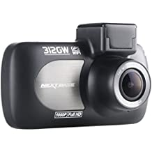 Nextbase 312GW  1080p HD In-Car Dash Camera DVR with 140° Viewing Angle WiFi and GPS,Black