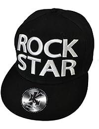 Underground Kulture Rock Star Casquette de Baseball Réglable Noir (Snapback)