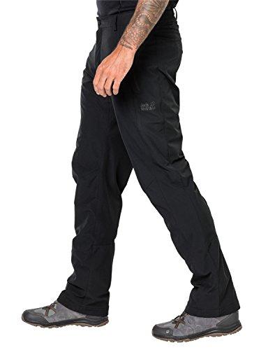 JACK WOLFSKIN HERREN SOFTSHELLHOSE ACTIVATE WINTER PANTS Black