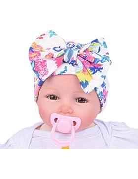 Culater® Newborn Ospedale Cappello appena nato Cappelli bambino con il fiore del fiore di Bowknot