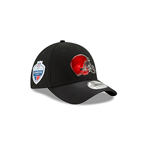 New Era NFL CLEVELAND BROWNS 2017 London Games 39THIRTY Stretch Fit Game Cap, Größe :M/L (Browns Cleveland Herren Bekleidung)