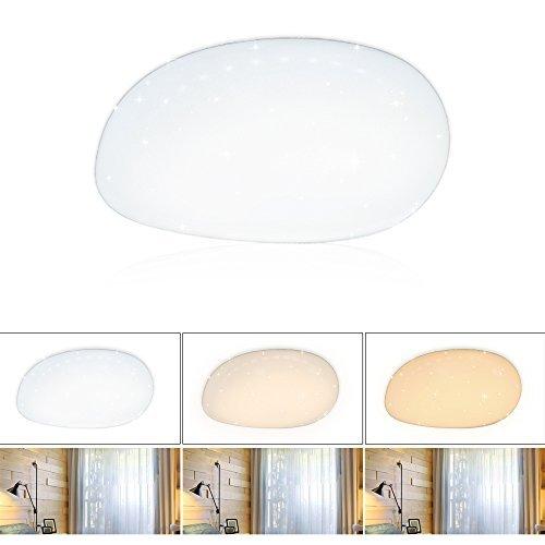 VINGO LED 50w Mordern rund Farbwechselfunktion Wand-Deckenleuchte Wohnraum Wohnzimmerlampe W, acryl, Farbwechsel -