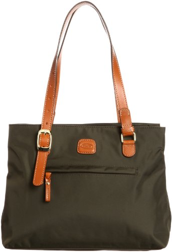 Bric's Borsa Messenger X-bag Shopping Verde (oliva)
