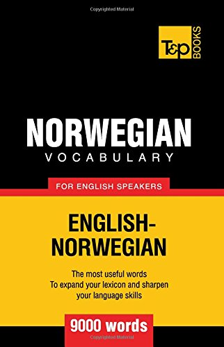 Norwegian vocabulary for English speakers - 9000 words