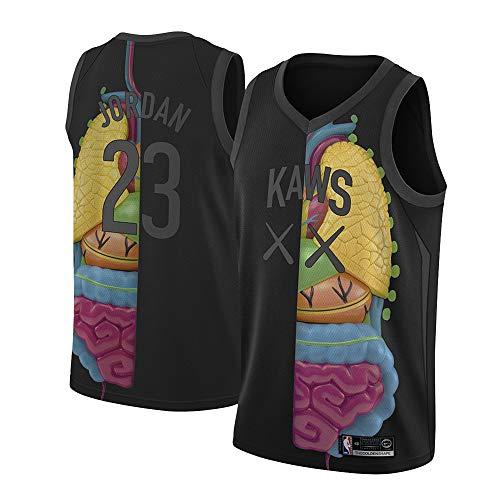 GRYUEN Herren Basketball Shirts NBA 23# Jordan Jersey Summer Classic Ärmellose Weste