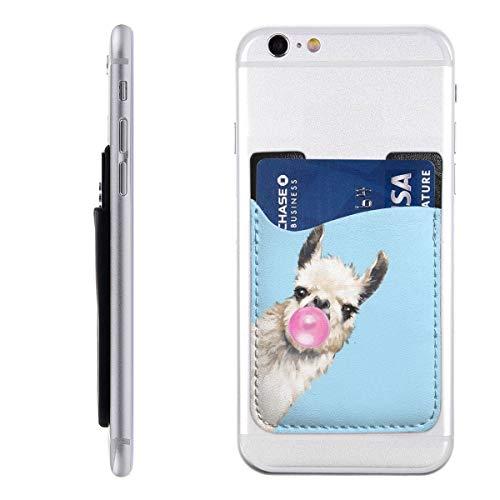 Genertic Bubble Gum Sneaky Llama Azul teléfono Tarjeta