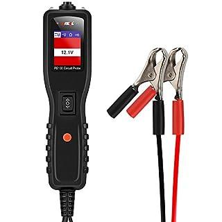 Ancel PB100Automotive Spannungsprüfer Fahrzeug Bordnetz Detektor für 12V zu 24V–schwarz