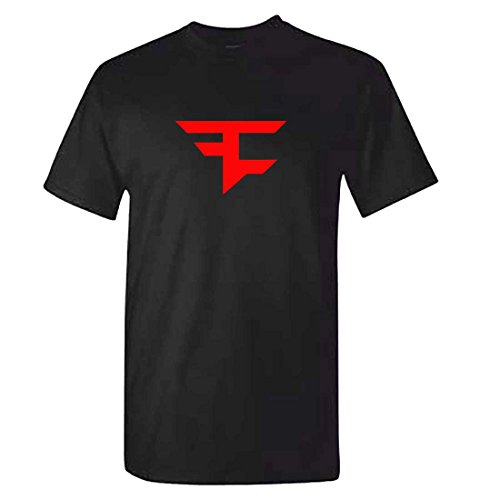 Mens Black FAZE CLAN T Shirt