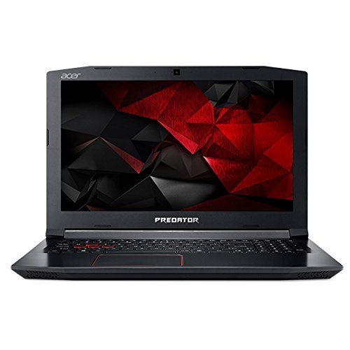 Acer Predator G3-572-79KL 2.8GHz i7-7700HQ 15.6Zoll 1920 x 1080Pixel Schwarz Notebook