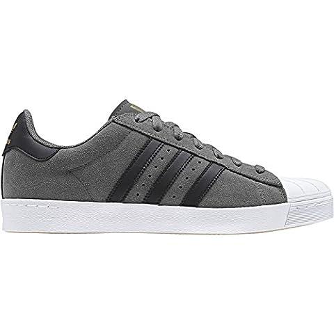 adidas Superstar Vulc Adv, Chaussures de skate homme - gris - Gris (Gricua/Negbas/Dormet), 42 EU