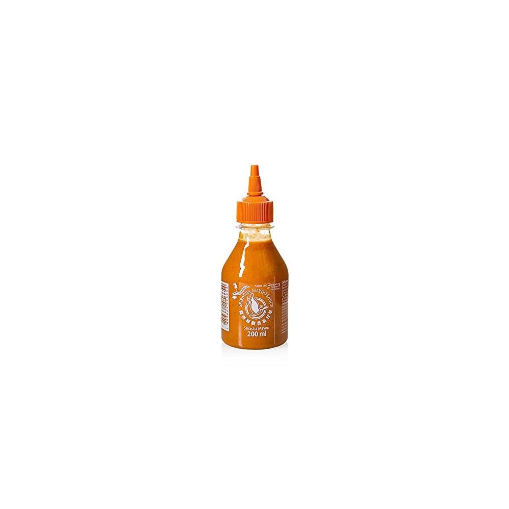 200ml Flying Goose Sriracha Mayoo Sauce Chilicreme Wrzig Scharf