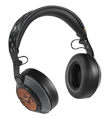 House of Marley Liberate Xlbt Cuffie Bluetooth, Driver da 50mm, Profilo in Acciaio, Rivestimenti in Tessuto, Overear