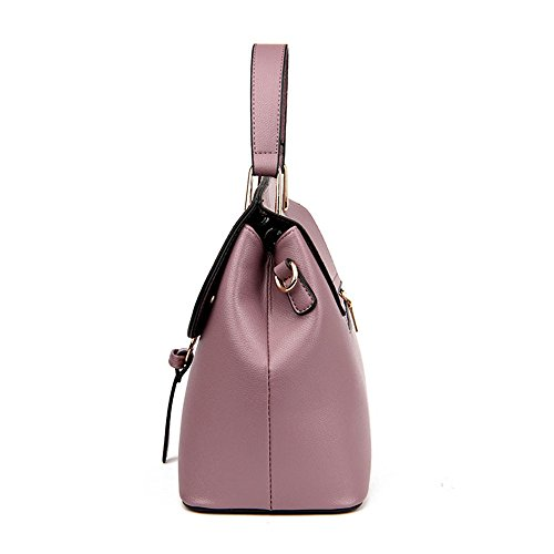 Meoaeo Moda Borsette Borsette Borsetta Tracolla Trend Di Moda Grigio Chiaro Pink