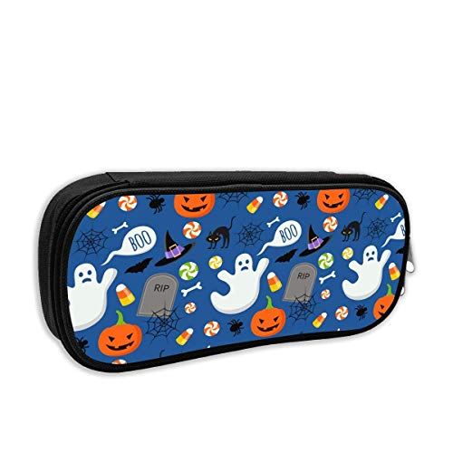 Happy Halloween Funny Pattern Pencil Case Pouch Bag Multifunction Cosmetic Makeup Bag School Office Storage Organizer (Halloween Army Girl Make-up)