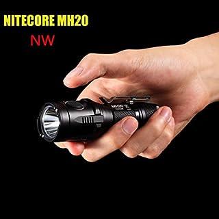 ADAALEN Nitecore MH20 CREE XM-L2 1000LM Neutral White EDC LED Taschenlampe