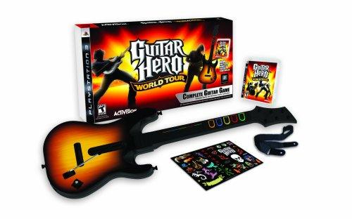 Pack 'Guitar Hero: World Tour' con guitarra [PS3] [PlayStation 3] [Producto Importado]