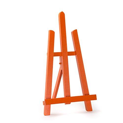 """Varios colores haya madera 390mm artista tablero de la mesa caballete–mejor calidad de Europea, Naranja, 39 cm - 16"""" - 1ft"""