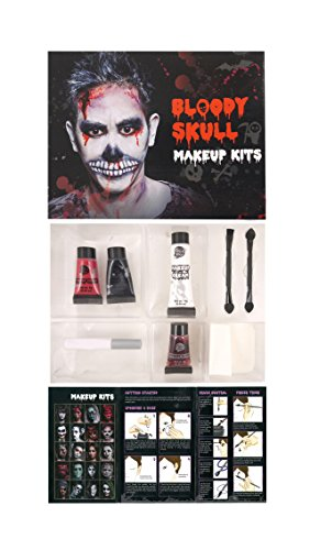 Make Up Kit Bloody Skull