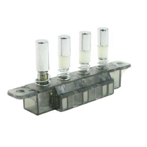 MQ184C AC 250V 4A 4 Taster Piano Typ Schlüsselbrett Schalter für Küchenabzugshauben