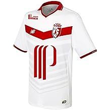 Lille OSC FC 16/17 Domicile - Maillot de Foot - Blanc