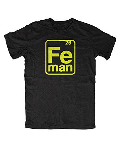 Artshirt-Factory Iron Man FE-Man T-Shirt (XXL, Schwarz)